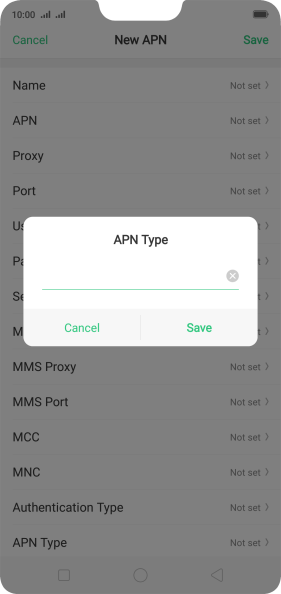 Setting up your OPPO R15 Pro Android 8 1 for MMS - Woolworths Mobile