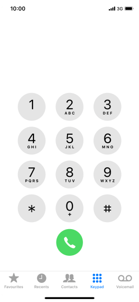 Key in **67*141# and press the call icon.