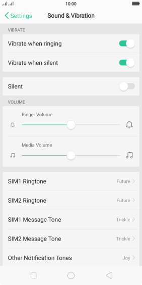Press ‹SIM› Ringtone.