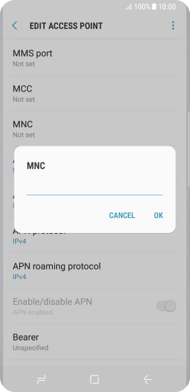 Setting up your Samsung Galaxy S8 Android 7 0 for MMS - Woolworths